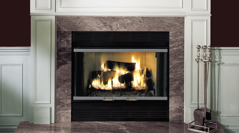 Royalton Wood Burning Fireplace By Majestic Products