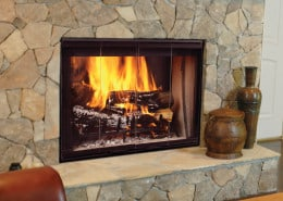 Designer Series Wood Burning Fireplace