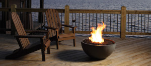 Bola - Outdoor Gas Fire Bowl by Marquis fireplaces
