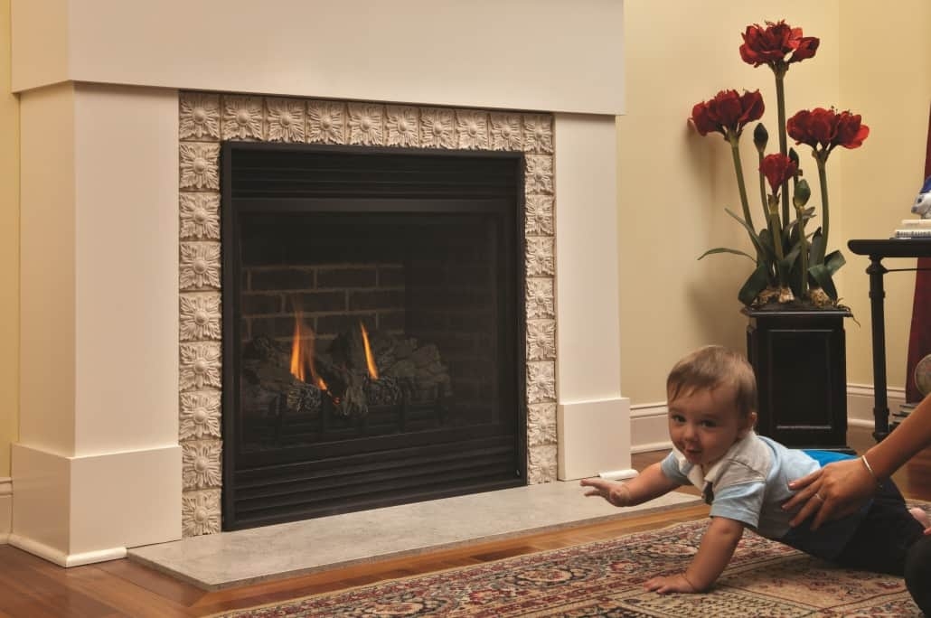 gas fireplace safety screen - Impressive Climate Control