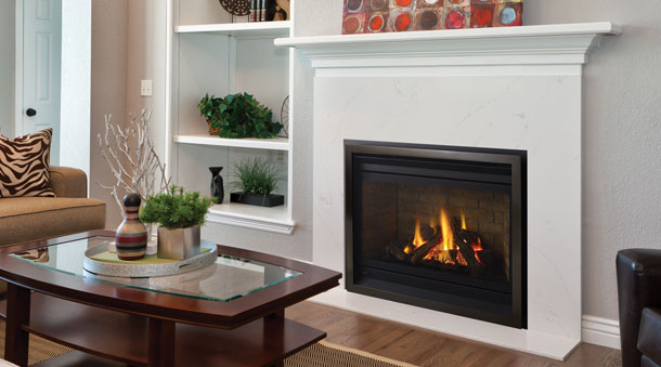 Regency Panorama P36 Medium Gas Fireplace Impressive