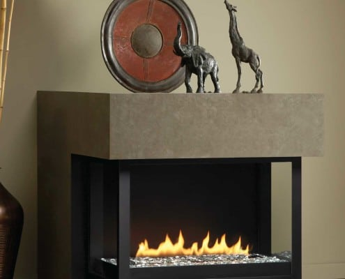 Montigo H Series Panorama Fireplace
