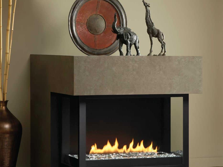 Montigo HL Series See Through Fireplace Impressive Climate Control