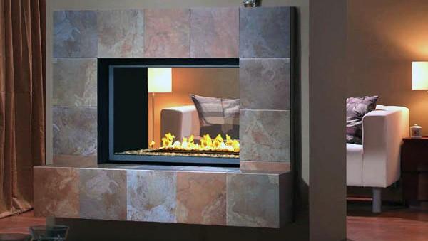 Montigo Hl Series See Through Fireplace Impressive Climate Control