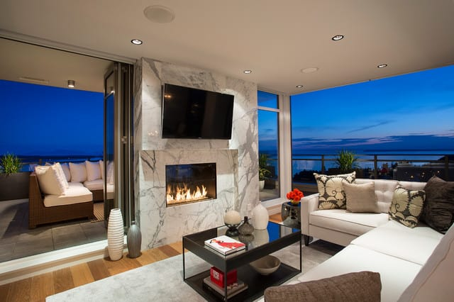 Outdoor See Through Fireplaces Ottawa | Indoor Outdoor Fireplace ...