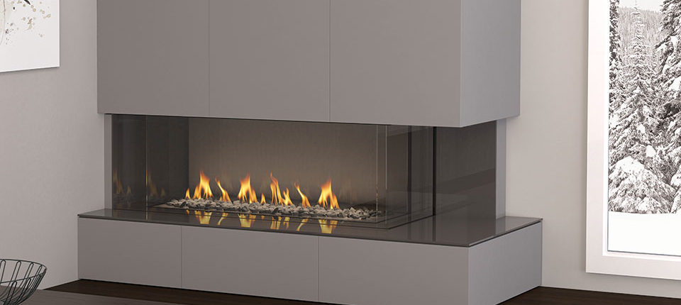Regency City Series Linear Fireplace Multi View Direct